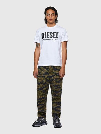Diesel - T-DIEGOS-ECOLOGO, White - T-Shirts - Image 4