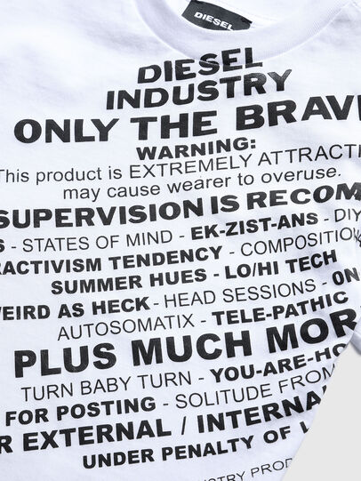 Diesel - TDIEGOS3B-R, White - T-shirts and Tops - Image 3