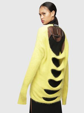 M-GIORGIA, Yellow Fluo - Knitwear