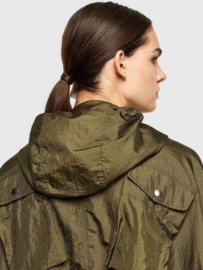 Diesel - G-NEVA, Olive Green - Jackets - Image 4
