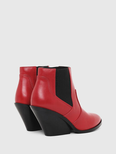 Diesel - D-FLAMINGO CB, Red - Ankle Boots - Image 3