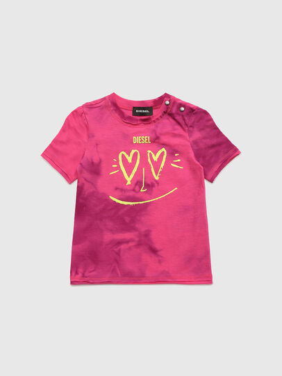 Diesel - TINTDB, Pink - T-shirts and Tops - Image 1