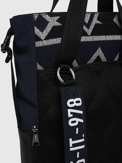 Diesel - ALASK, Dark Blue - Shopping and Shoulder Bags - Image 6