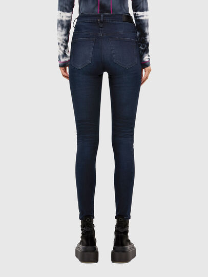 Diesel - Slandy High 009JG, Dark Blue - Jeans - Image 2