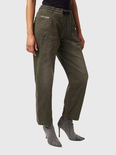 Diesel - Krailey JoggJeans® Z670M, Military Green - Jeans - Image 4