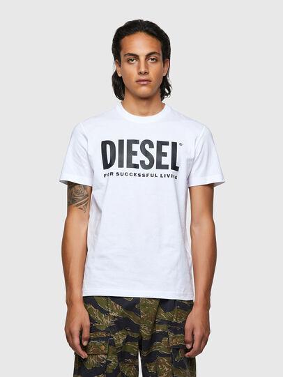 Diesel - T-DIEGOS-ECOLOGO, White - T-Shirts - Image 1