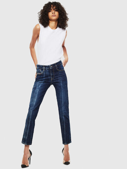 Diesel - D-Rifty 0092X, Medium blue - Jeans - Image 7