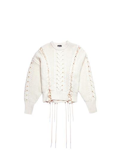 Diesel - M-NEBRASKA, White - Knitwear - Image 6