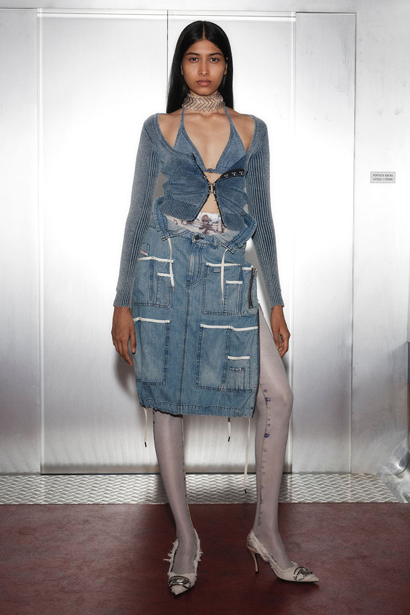 Diesel Fashion Show SS22   Glenn Martens   Look 48