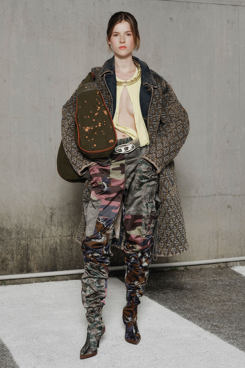 Diesel Fashion Show SS22   Glenn Martens   Look 42