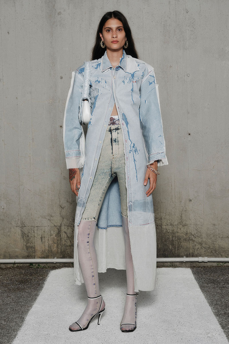 Diesel Fashion Show SS22   Glenn Martens   Look 21