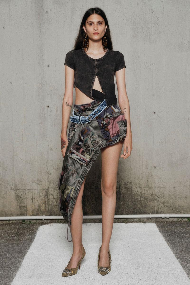 Diesel Fashion Show SS22   Glenn Martens   Look 45