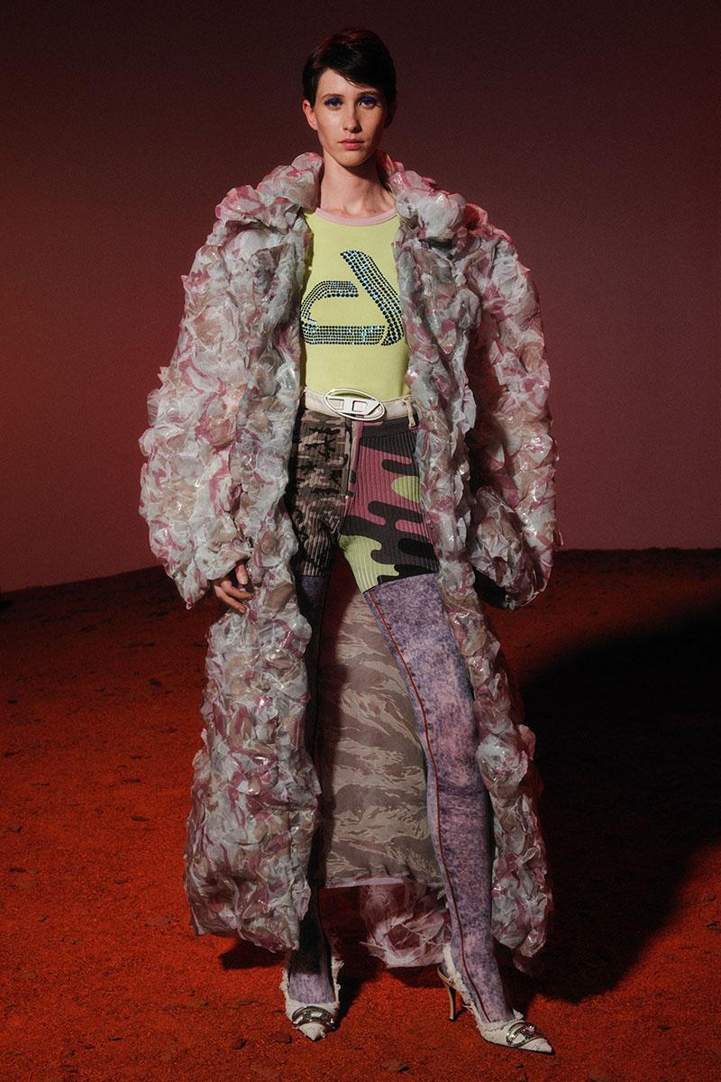 Diesel Fashion Show SS22   Glenn Martens   Look 80