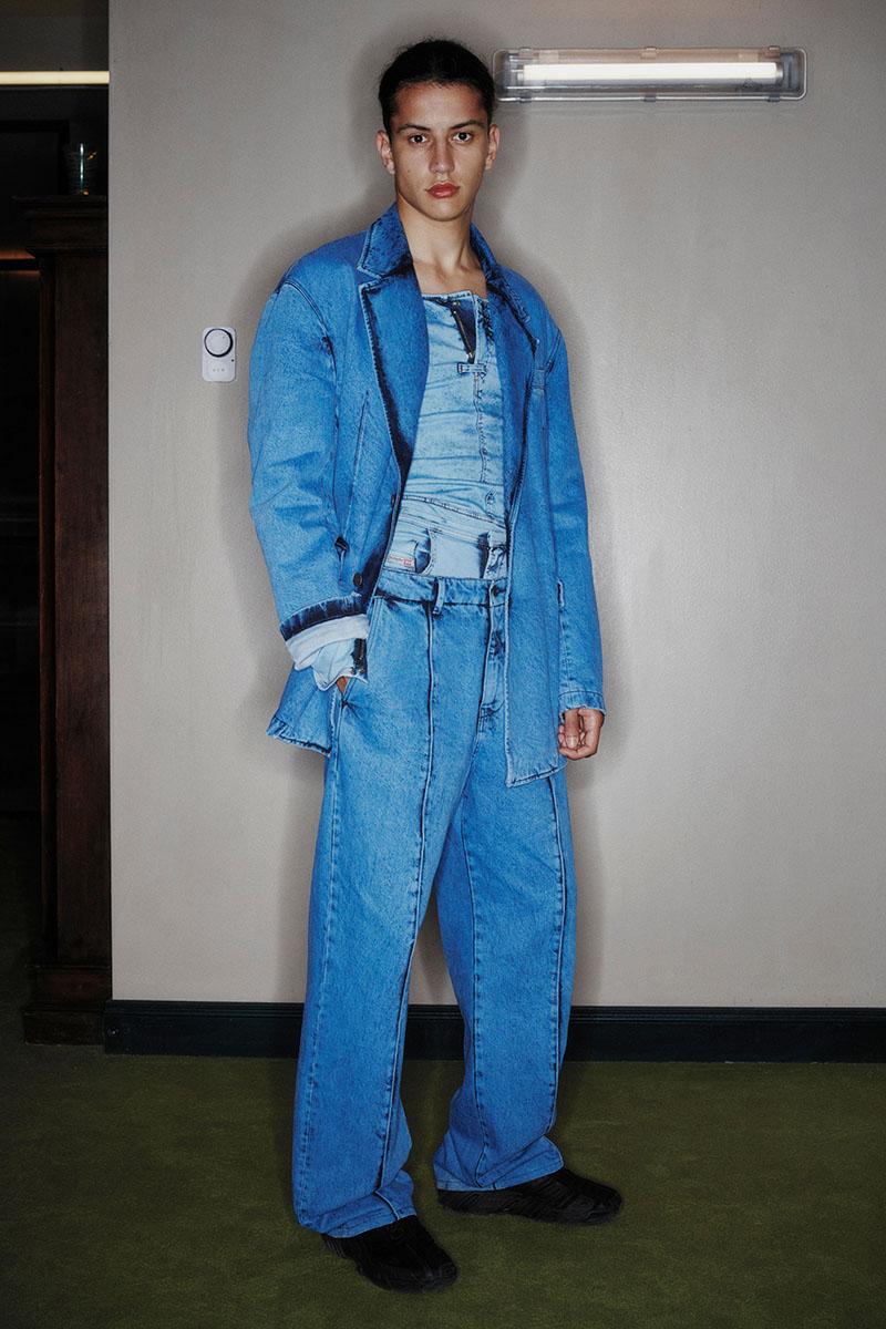 Diesel Fashion Show SS22   Glenn Martens   Look 15