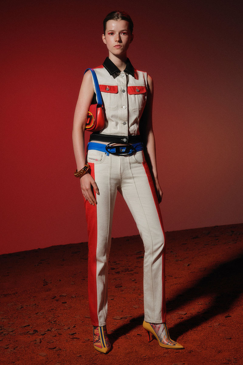 Diesel Fashion Show SS22   Glenn Martens   Look 68