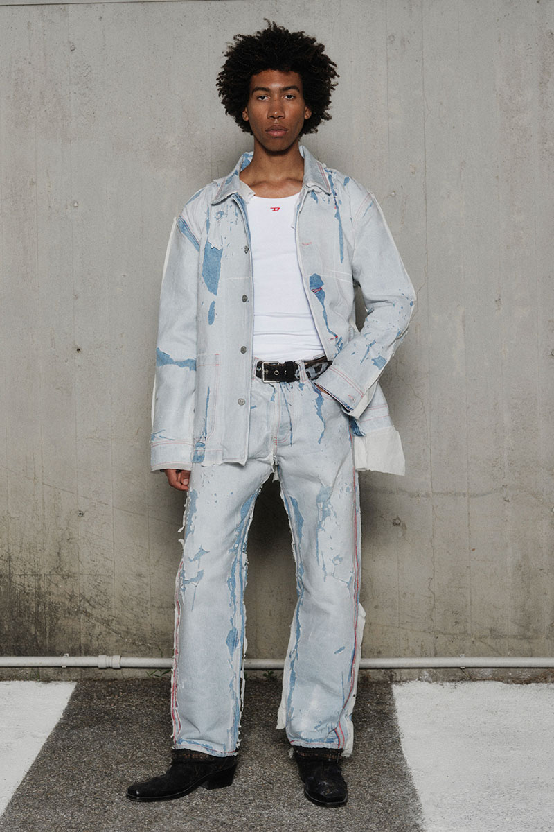 Diesel Fashion Show SS22   Glenn Martens   Look 23