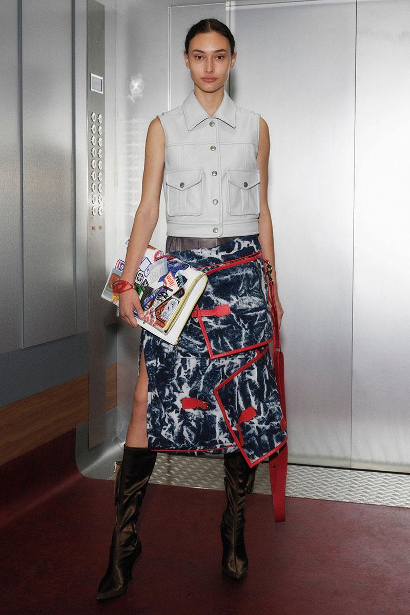 Diesel Fashion Show SS22   Glenn Martens   Look 64