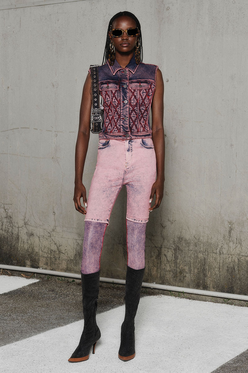 Diesel Fashion Show SS22   Glenn Martens   Look 28