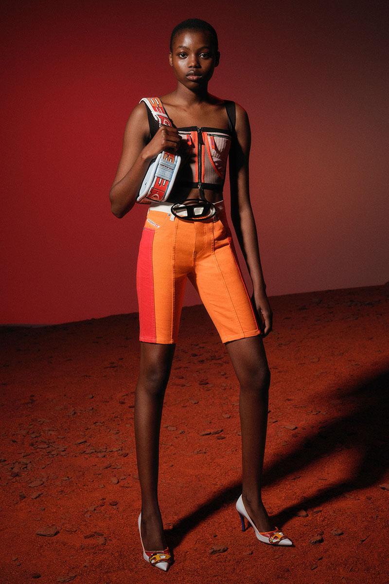 Diesel Fashion Show SS22   Glenn Martens   Look 66