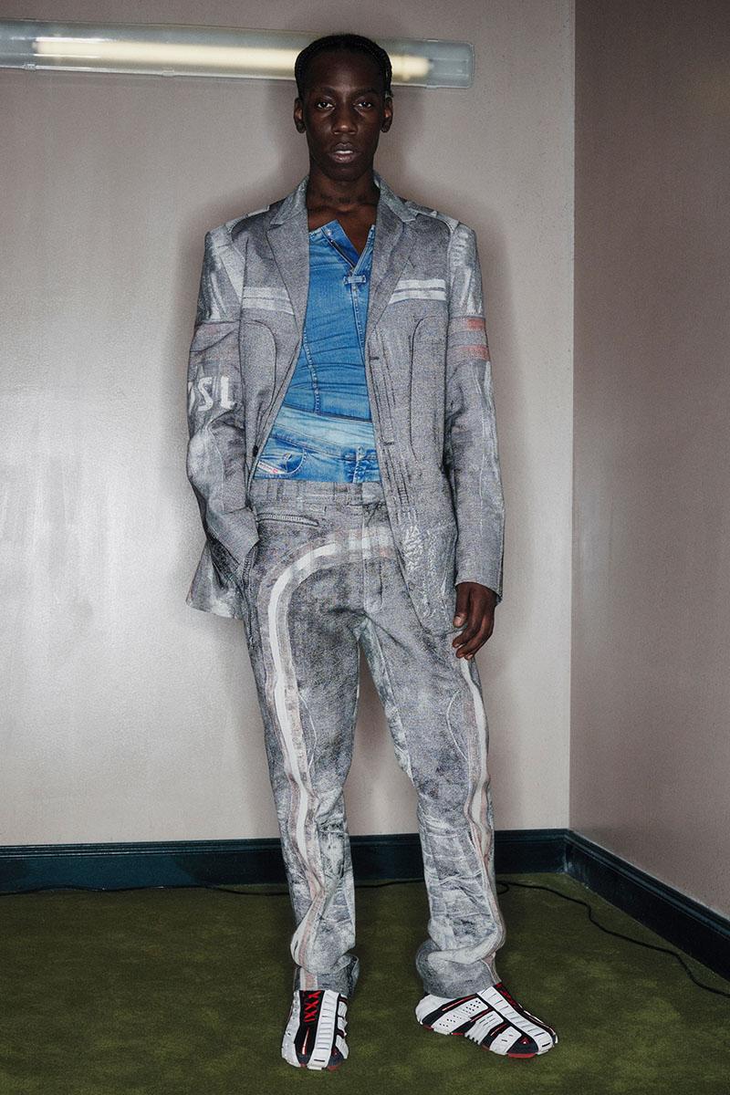 Diesel Fashion Show SS22   Glenn Martens   Look 8