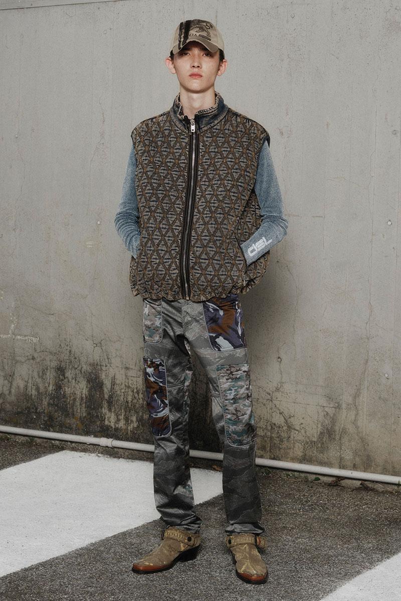 Diesel Fashion Show SS22   Glenn Martens   Look 41