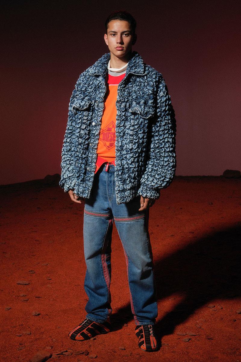 Diesel Fashion Show SS22   Glenn Martens   Look 65