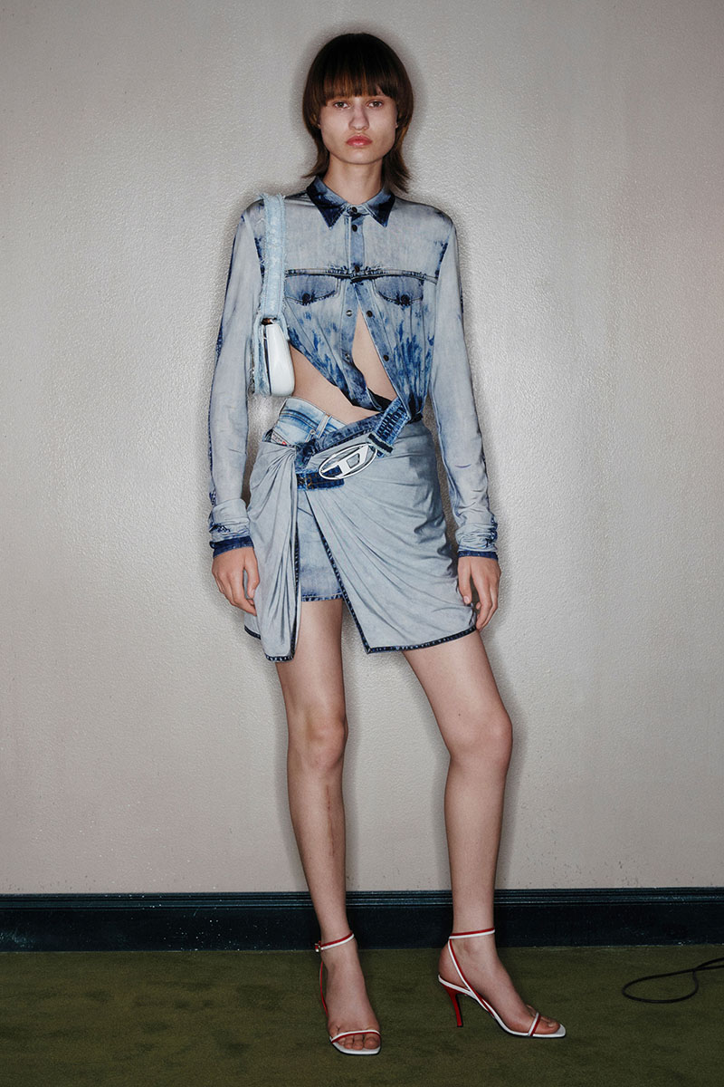 Diesel Fashion Show SS22   Glenn Martens   Look 12