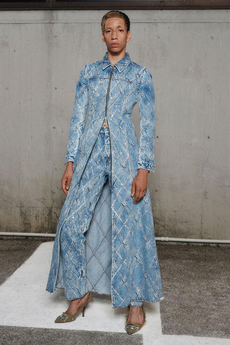 Diesel Fashion Show SS22   Glenn Martens   Look 35