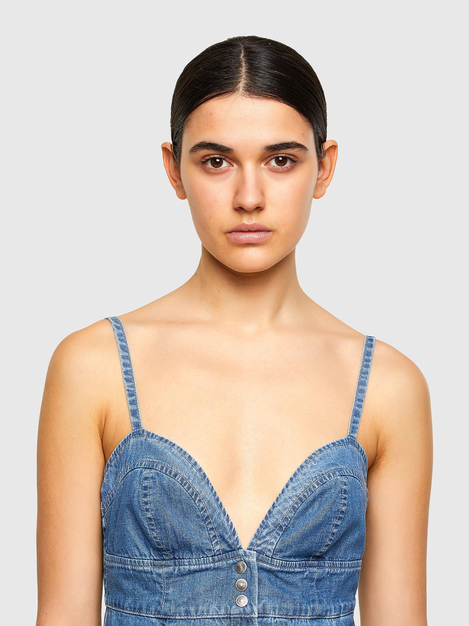 Diesel - DE-ARYA-SP, Medium blue - Dresses - Image 4