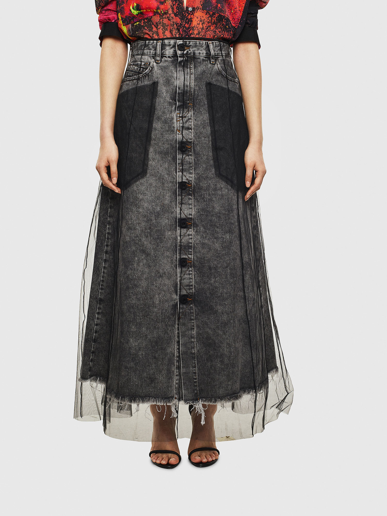 Diesel - O-MARGY,  - Skirts - Image 1