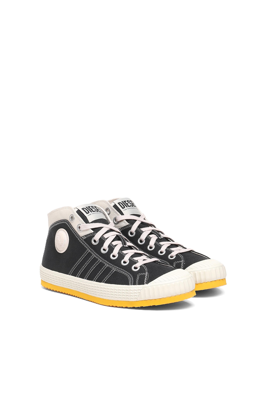 Diesel - S-YUK MC, Black/Yellow - Sneakers - Image 2