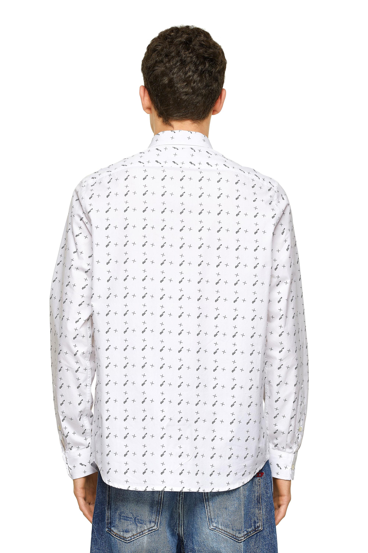 Diesel - S-RILEY-TM-LS, White - Shirts - Image 2
