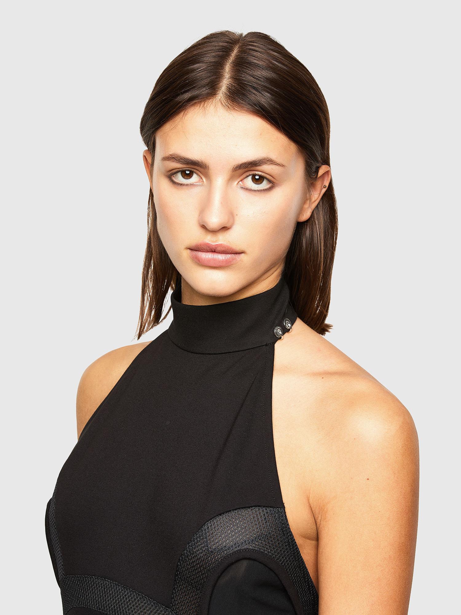 Diesel - D-ELIGHT, Black - Dresses - Image 3