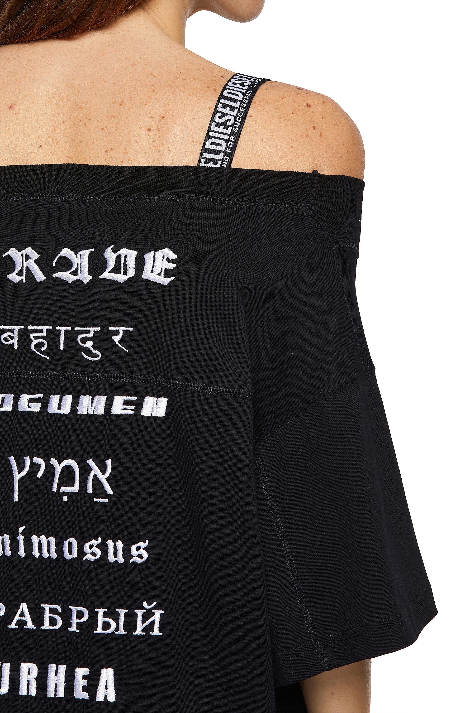 Diesel - D-WORKIE, Black - Dresses - Image 3
