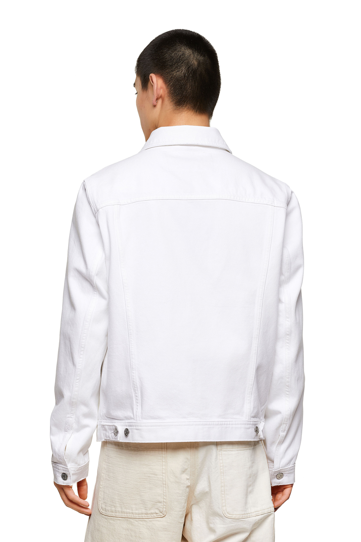 Diesel - NHILL-C1, White - Denim Jackets - Image 2