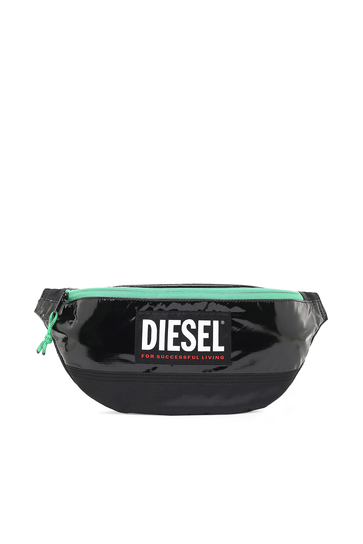 Diesel - LYAM PAT, Black/Green - Belt bags - Image 1