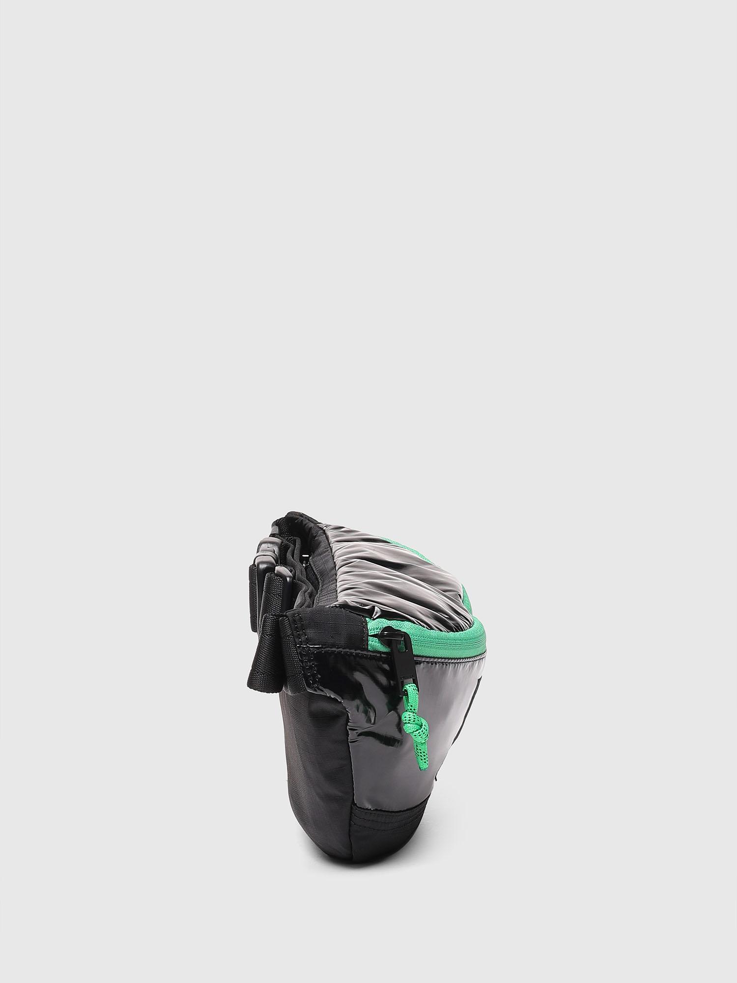 Diesel - LYAM PAT, Black/Green - Belt bags - Image 6