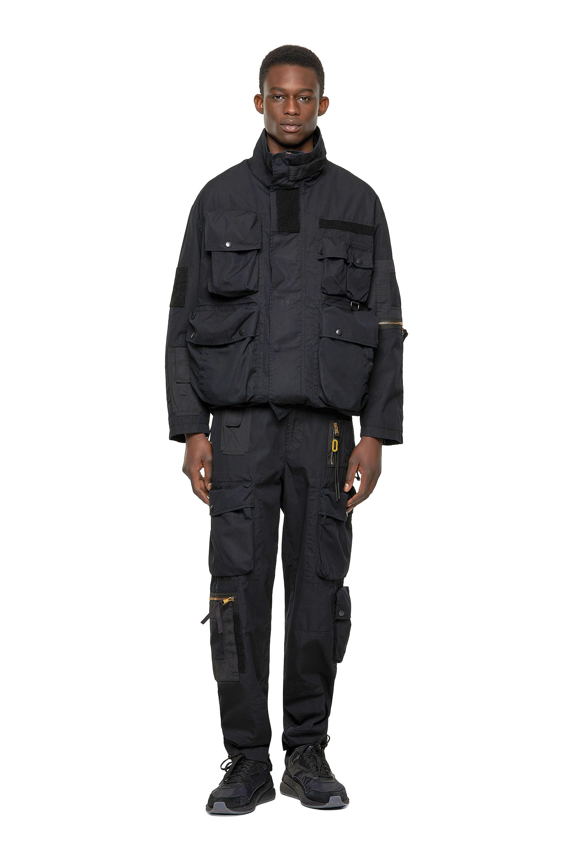 Diesel - J-BUMS, Black - Jackets - Image 5
