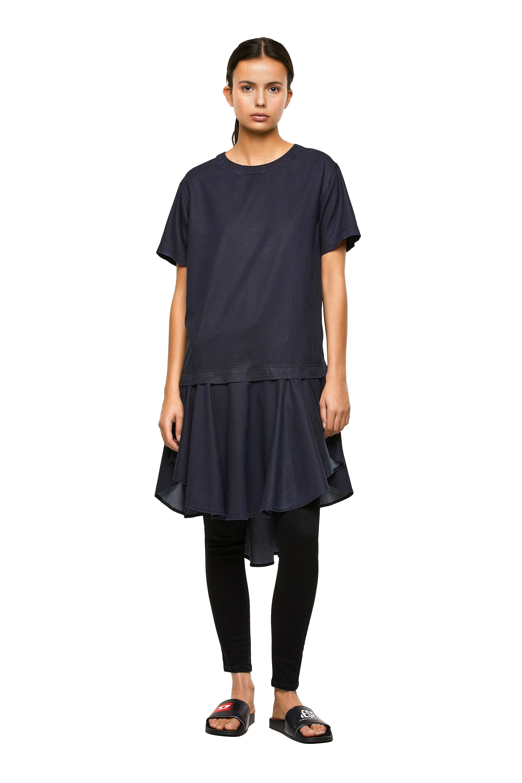 Diesel - DE-JOLLIE, Medium blue - Dresses - Image 1