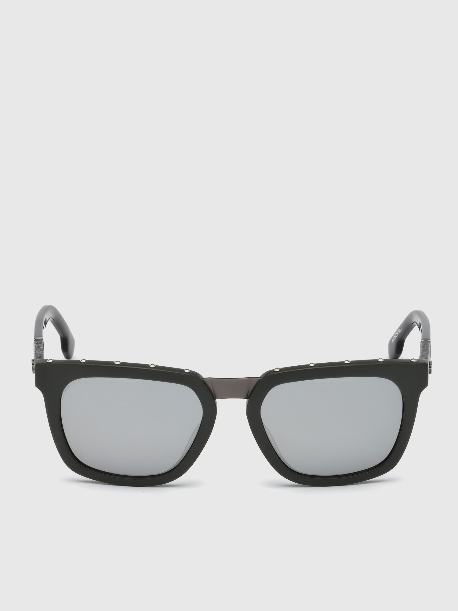 Diesel - DL0212, Military Green - Sunglasses - Image 1