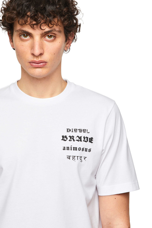 Diesel - T-JUST-B59, White - T-Shirts - Image 3