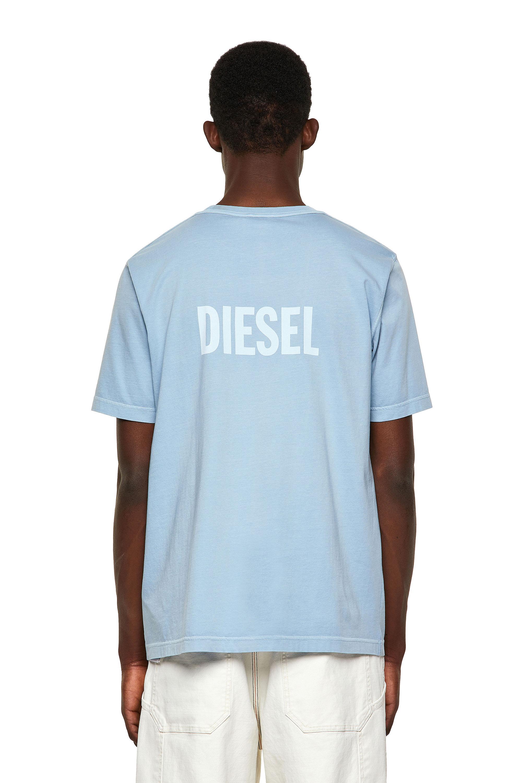 Diesel - T-JUBINDY, Light Blue - T-Shirts - Image 2
