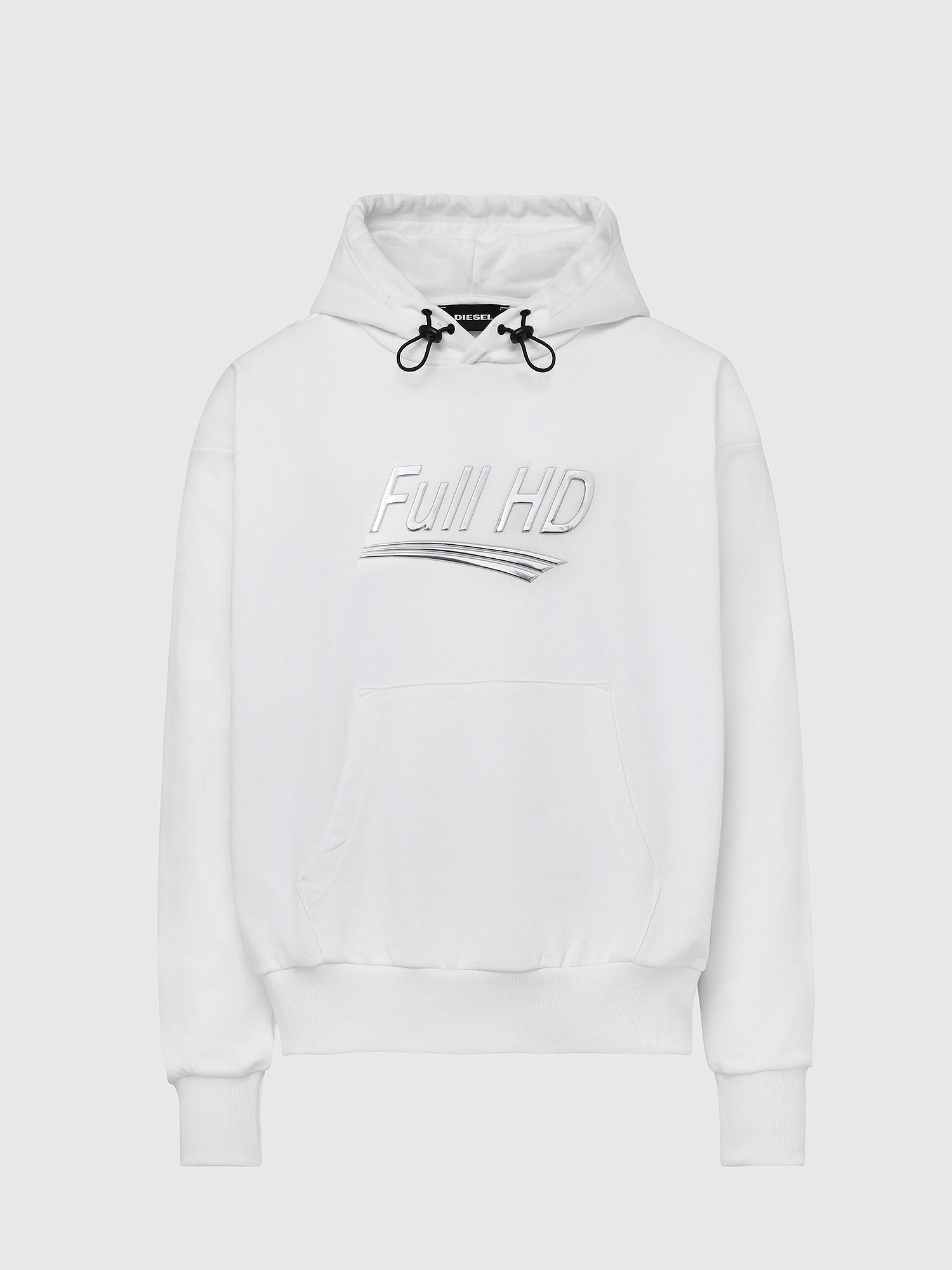 Diesel - S-ALBYEL-X1, White - Sweaters - Image 1