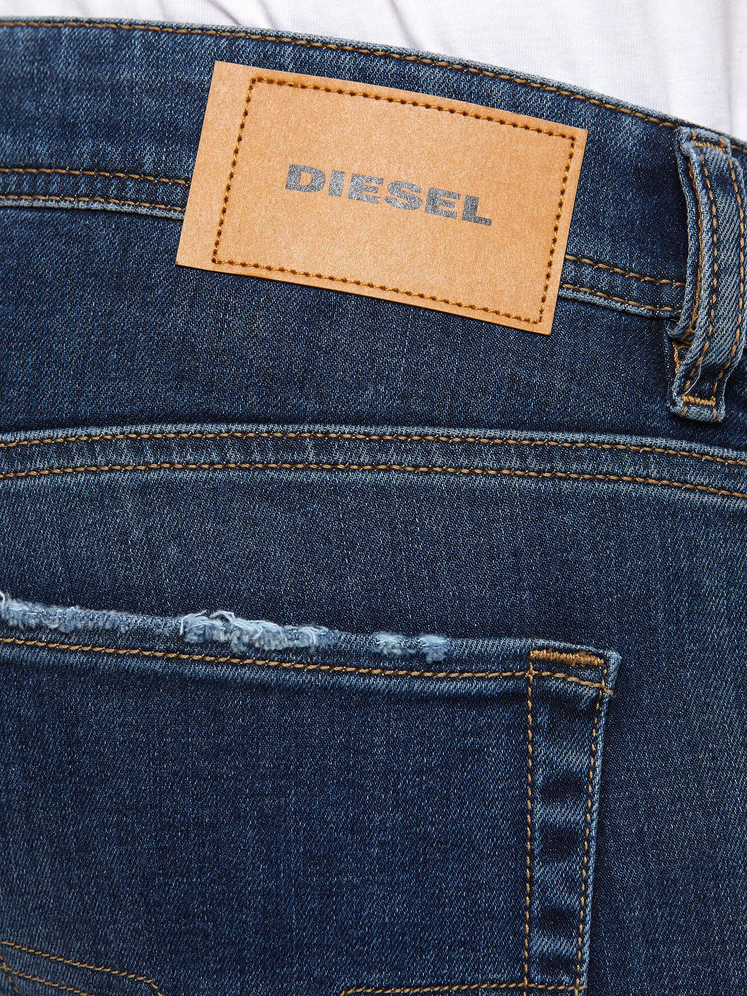 Diesel - Sleenker 009DK, Dark Blue - Jeans - Image 6