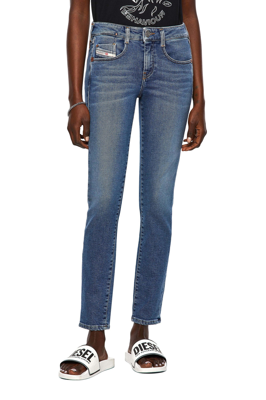 Diesel - D-Ollies JoggJeans® 069XA, Medium blue - Jeans - Image 1