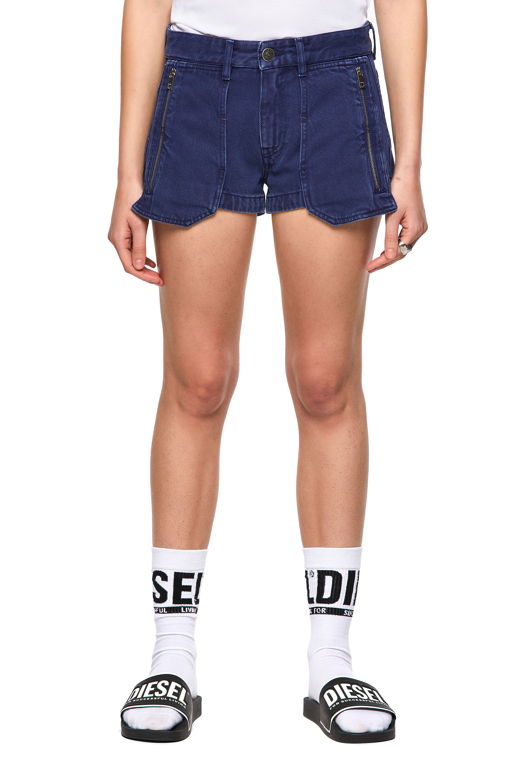 Diesel - DE-CLYO-SP, Blue - Shorts - Image 1