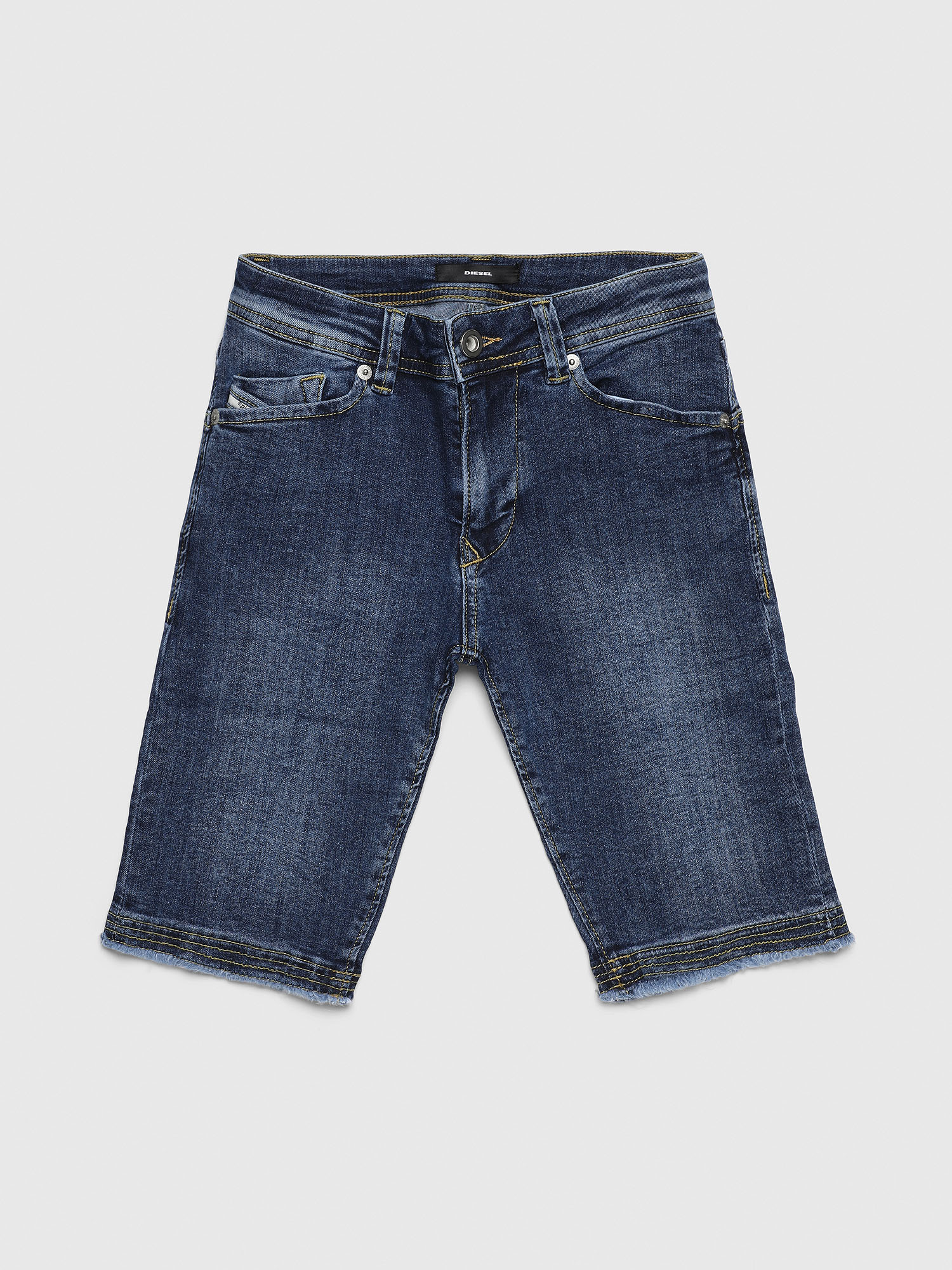 Diesel - DARRON-R-J SH-N, Medium blue - Shorts - Image 1