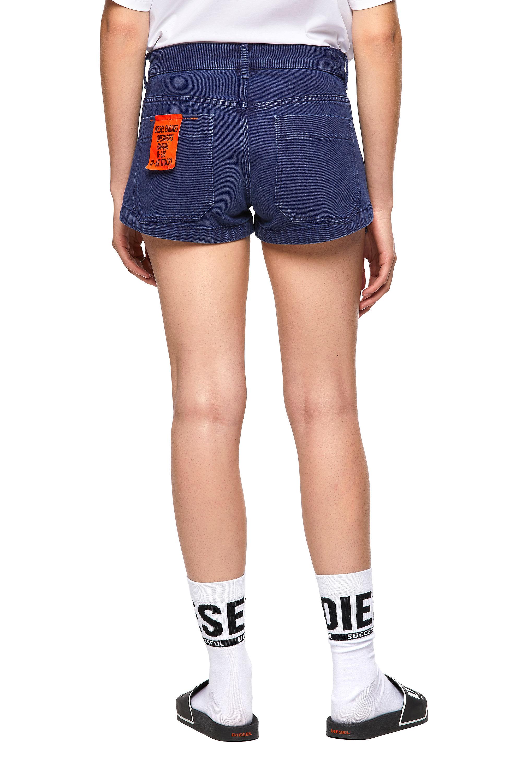 Diesel - DE-CLYO-SP, Blue - Shorts - Image 2