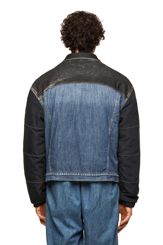Diesel - DxD-J1, Blue/Black - Denim Jackets - Image 2
