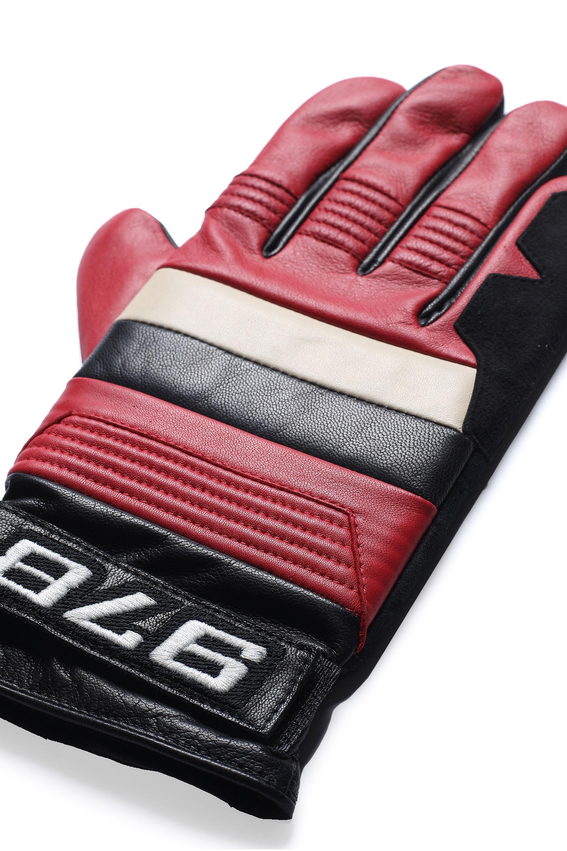 Diesel - G-RACE, Black/Red - Gloves - Image 2